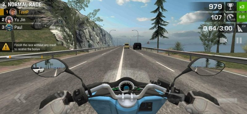 Racing fever moto PC Game