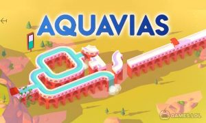 Play Aquavias – Water Flow Puzzle on PC