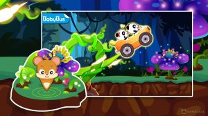 baby panda car racing download PC free