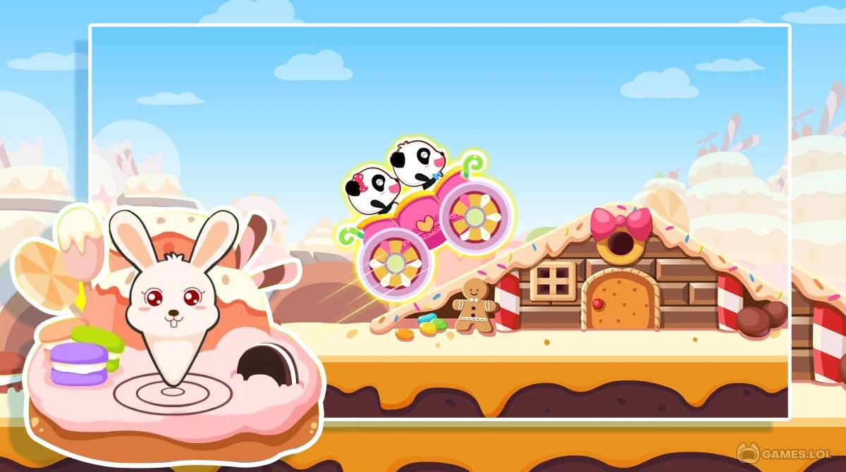 baby panda car racing download free
