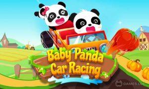 Play Baby Panda Car Racing on PC