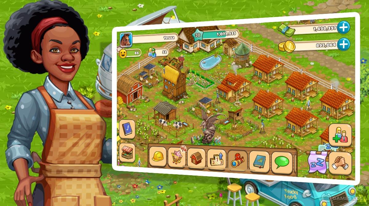 big farm mobile harvest download PC