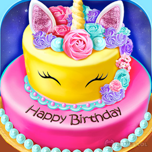 Play Birthday Cake Design Party – Bake, Decorate & Eat! on PC