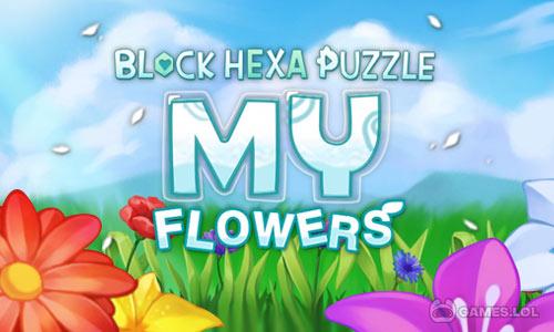 Play Block Hexa Puzzle: My Flower on PC