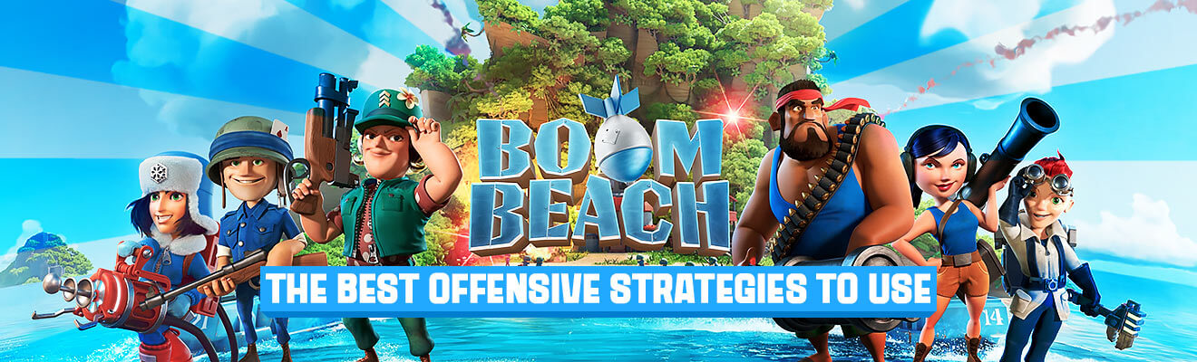 boom beach offensive strategies header