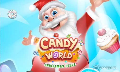 Play Christmas Candy World – Christmas Games on PC