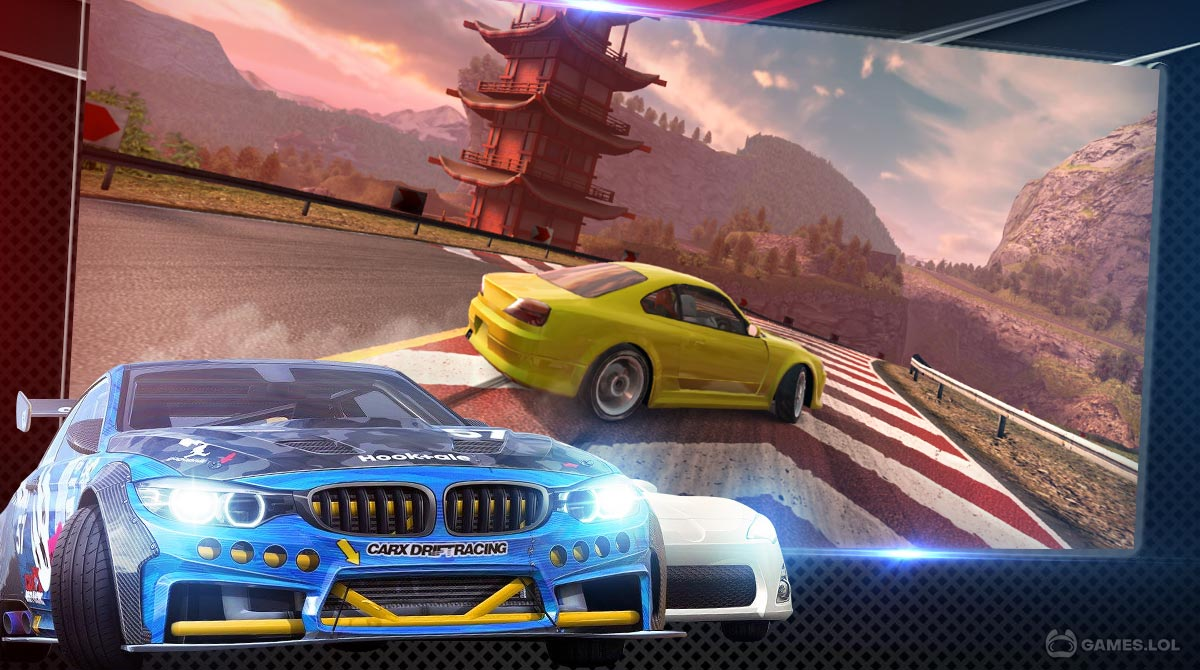 carx drift racing download PC free