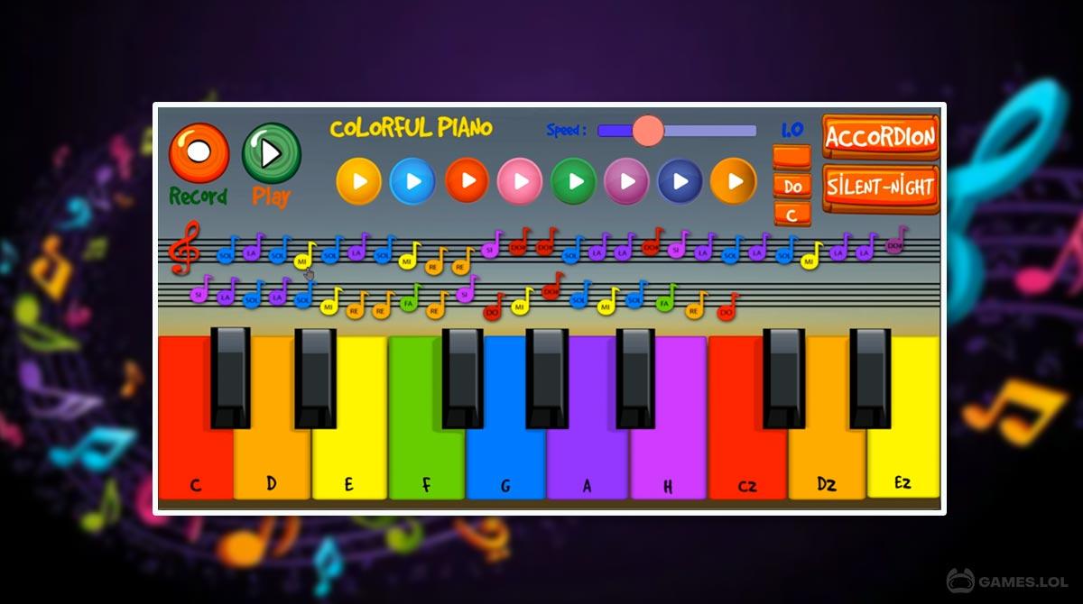 colorful piano download PC 2