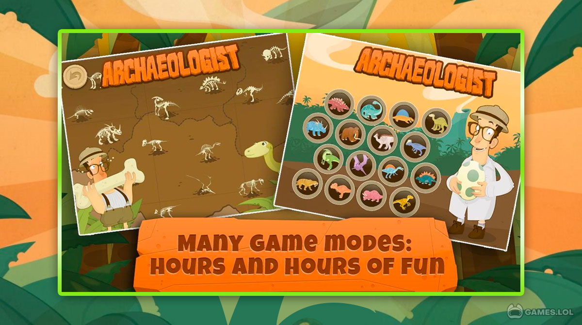 dinosaurs for kids download PC free