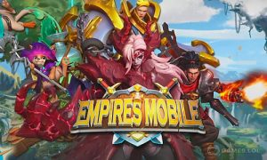 Play Empires Mobile on PC