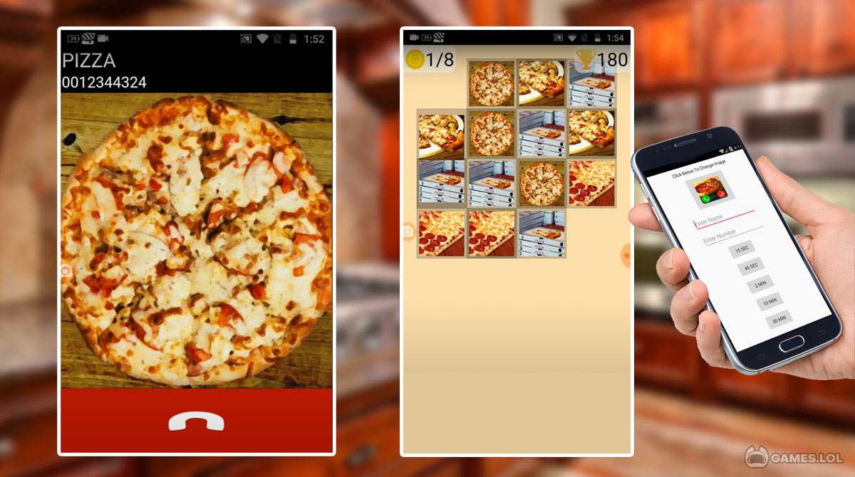 fake call pizza 2 download PC free