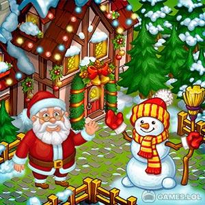 Play Farm Snow: Happy Christmas Story With Toys & Santa on PC