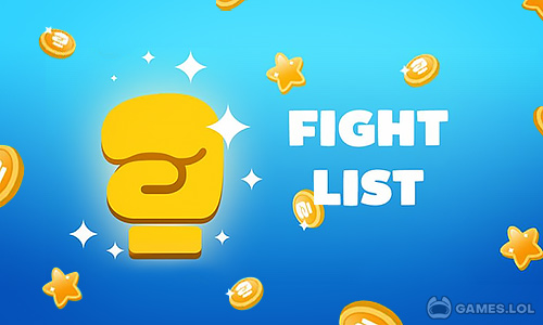 Play Fight List – Categories Game on PC