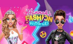 Play Hannah's Fashion World – Dress Up & Makeup Salon on PC