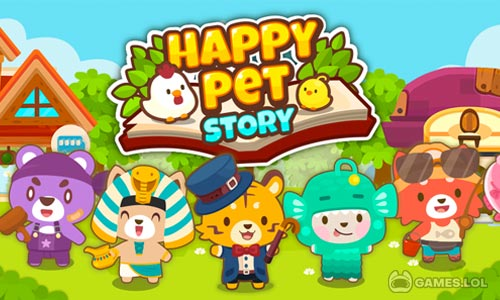 Play Happy Pet Story: Virtual Pet Game on PC