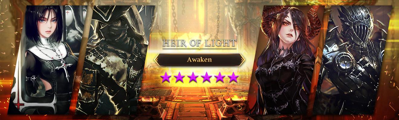 heir of light awakening servants header