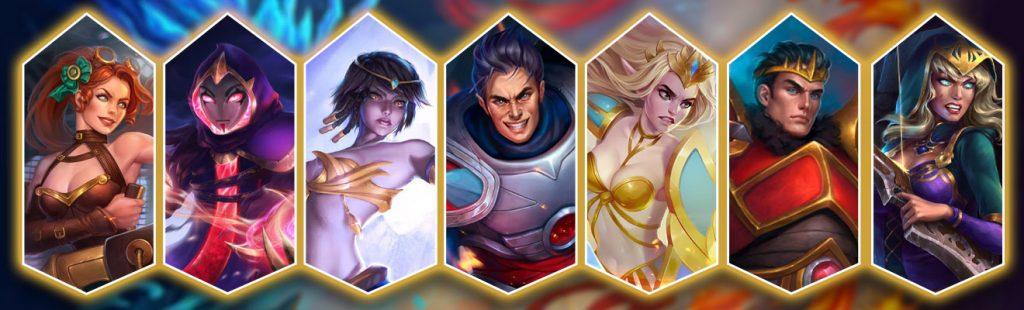 Hero Wars Heroes Header