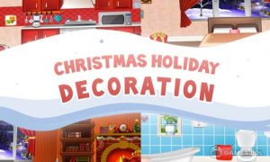 Play Christmas House Decoration on PC