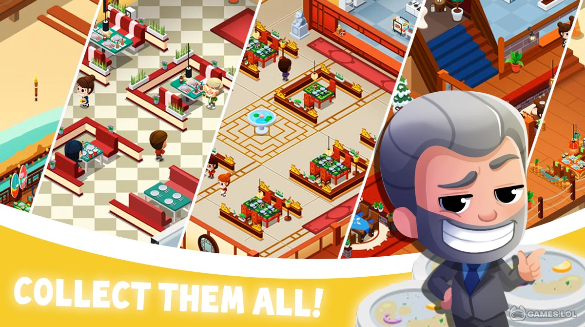 idle restaurant download PC free