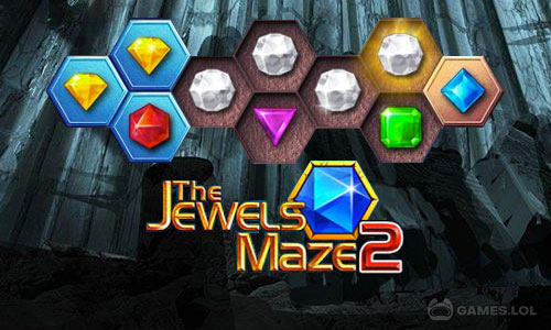 Play Jewels Maze 2 on PC