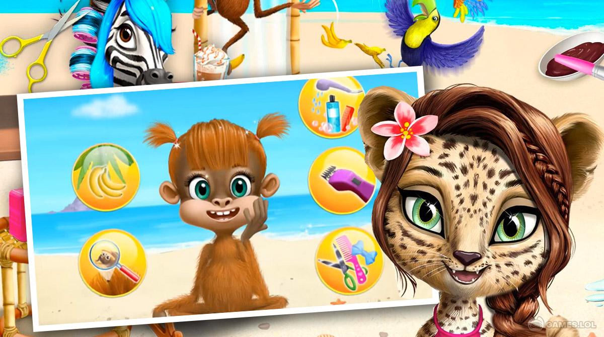 jungleanimal salon download free 2