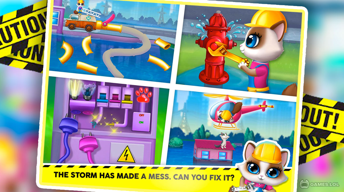 kitty meow city heroes download pc