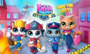 Play Kitty Meow Meow City Heroes – Cats to the Rescue! on PC