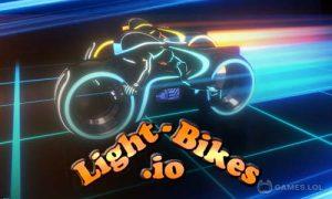 Play Light-Bikes.io on PC