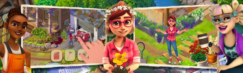 lily s garden in game plot ads