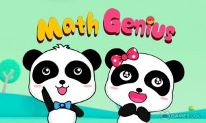 Play Little Panda Math Genius – Education Game For Kids on PC