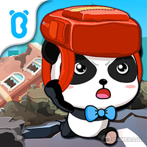 Play Little Panda Earthquake Safety on PC