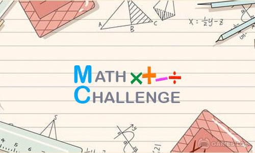 Play Math Challenge FREE on PC