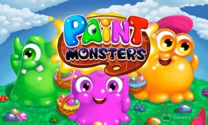 Play Paint Monsters on PC