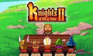 Play Knights of Pen & Paper 2, Pixel RPG, Retro Game on PC