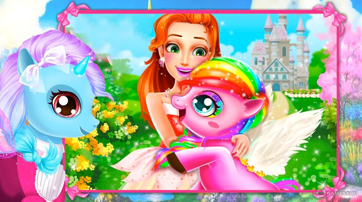 rainbow pony makeover download PC free