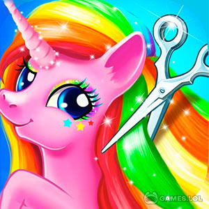 Play Rainbow Pony Makeover on PC