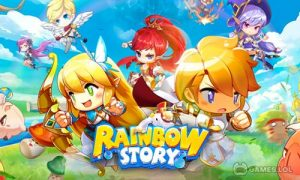 Play Rainbow Story: Fantasy MMORPG on PC