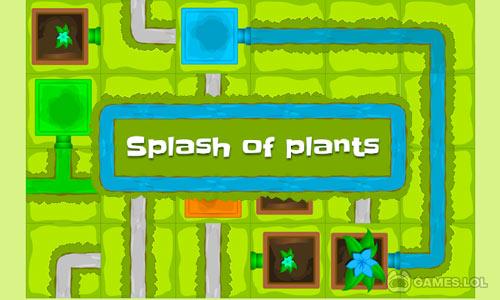 Play Splash of Plants – pipeline game on PC