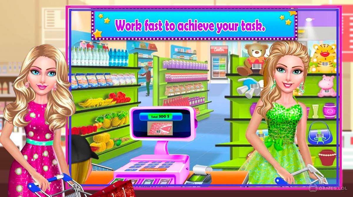 super market cashier download PC free