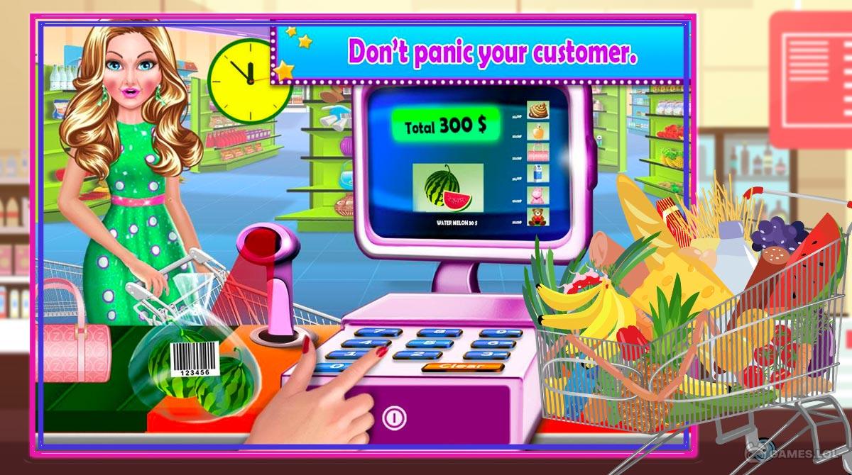super market cashier download full version