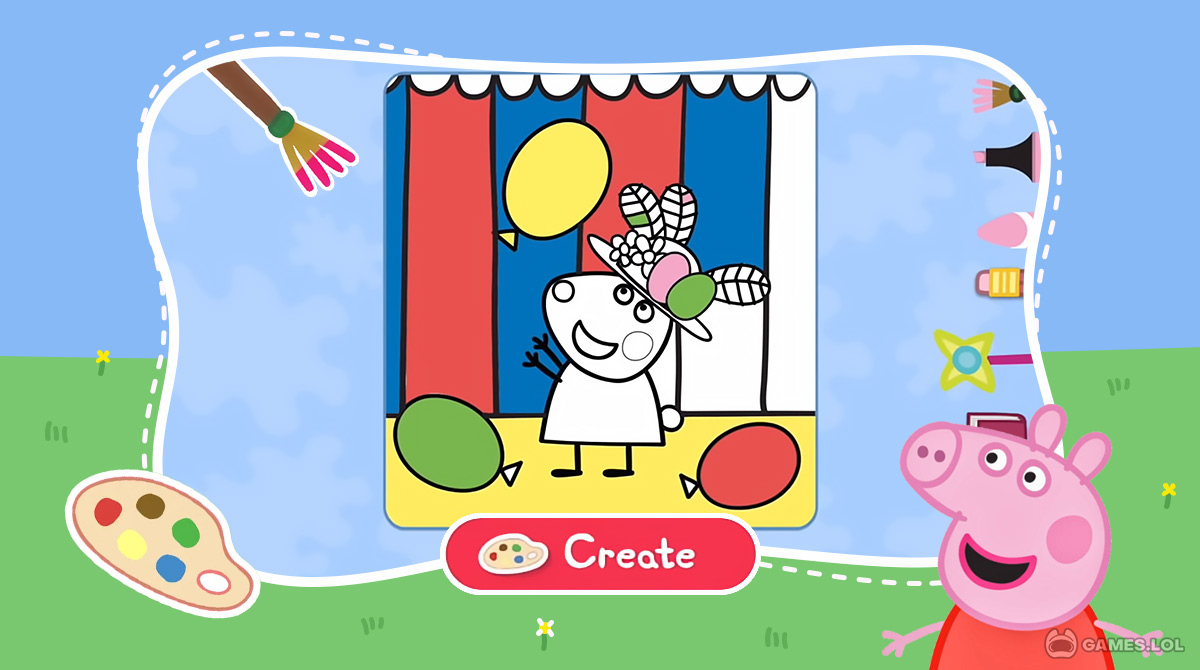 world of peppa pig download PC