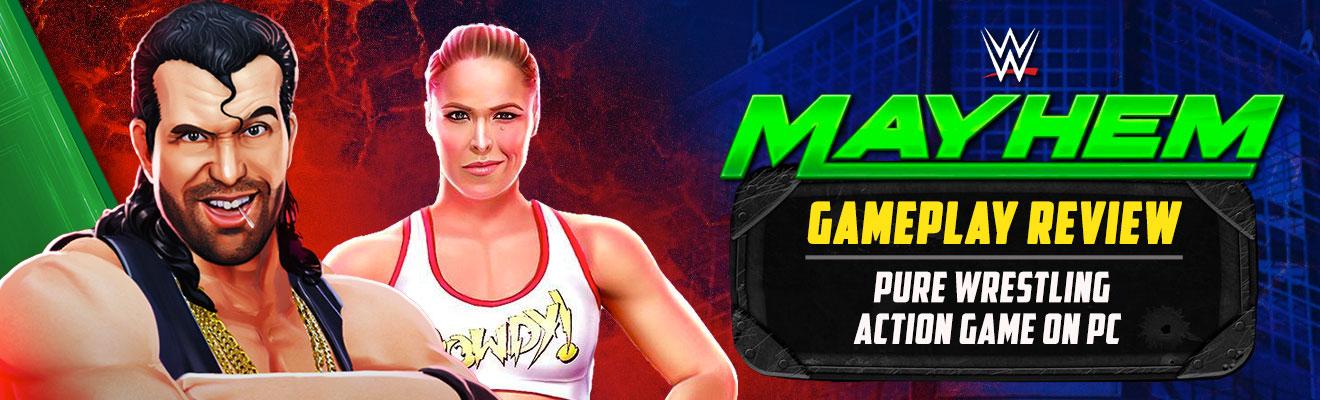 wwe mayhem gameplay review on pc