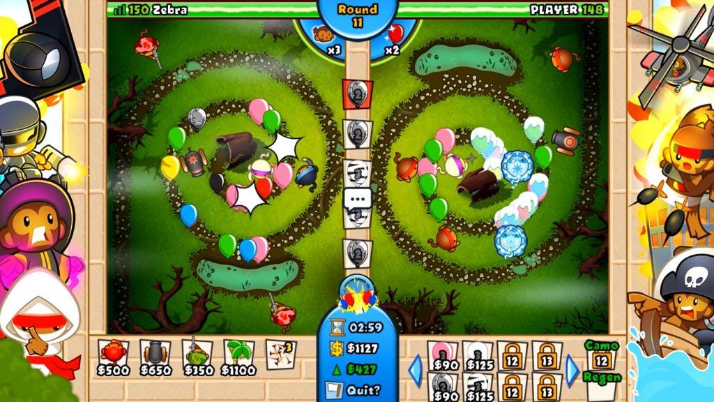 Bloons TD Battles Gameplay