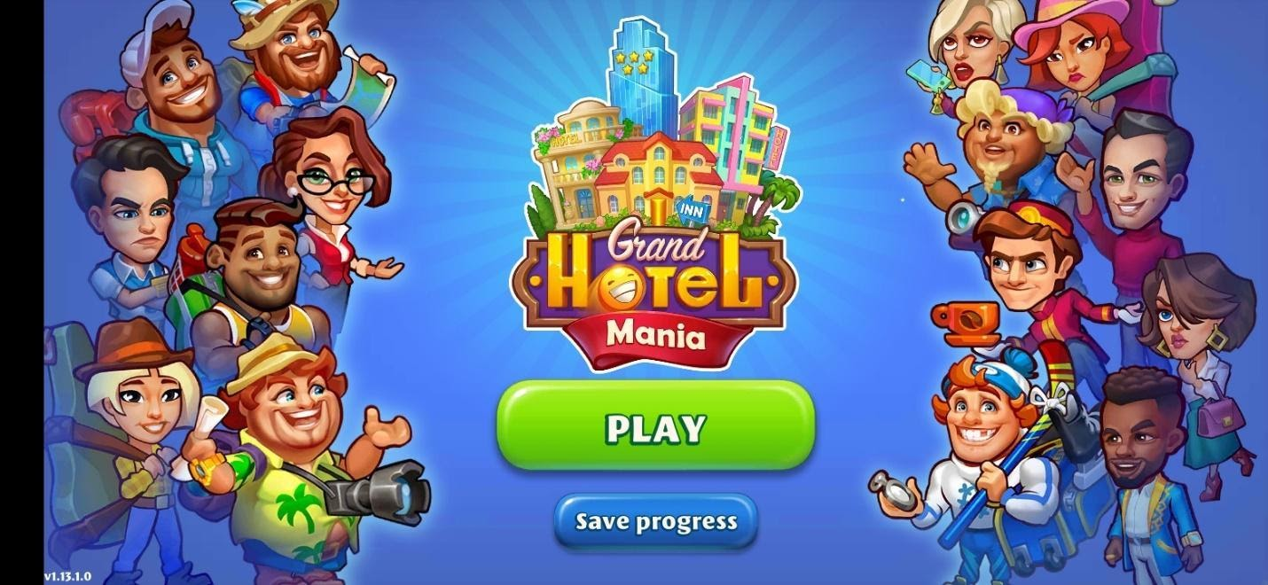 Grand Hotel Mania Game