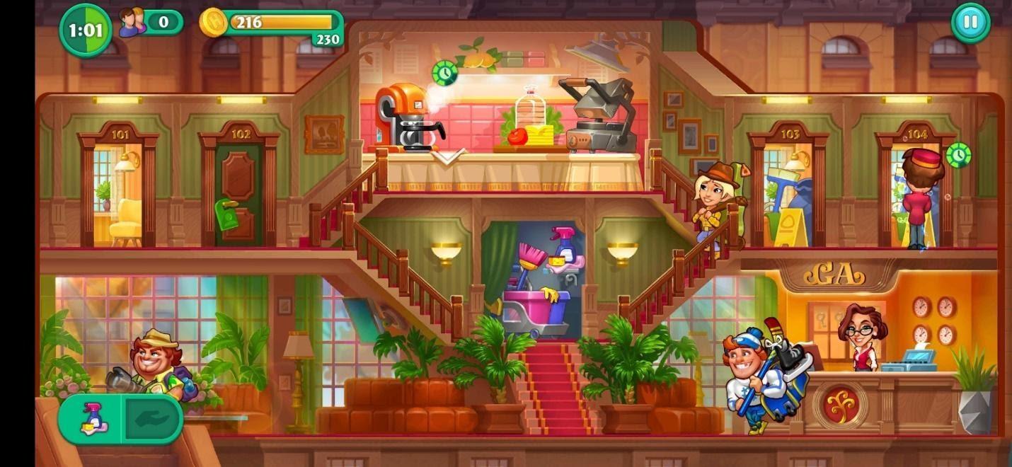 Grand Hotel Mania Gameplay On PC