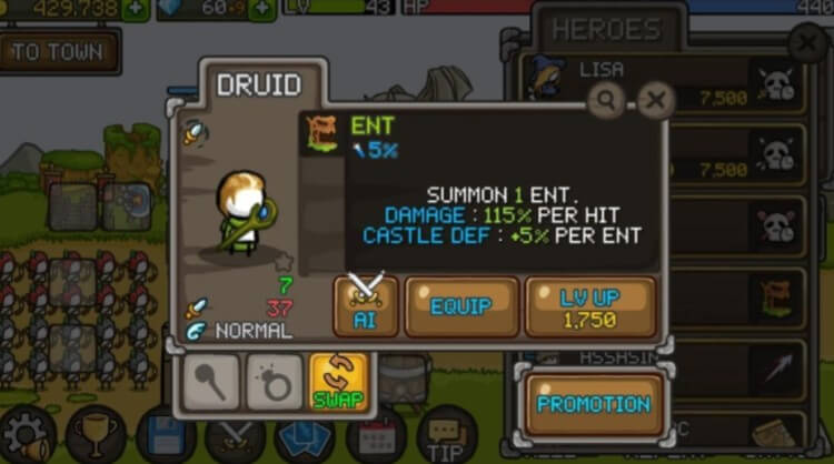 Grow Castle Druid screenshot