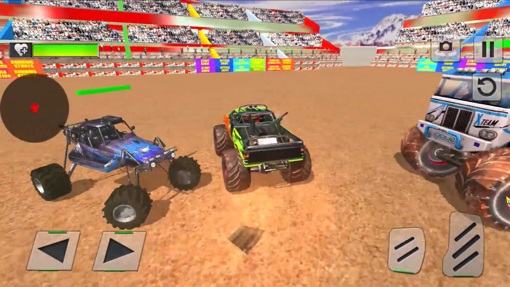 Real Monster Truck Demolition Derby Crash Stunts gameplay