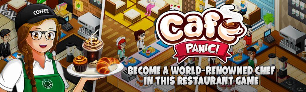 cafe panic game header