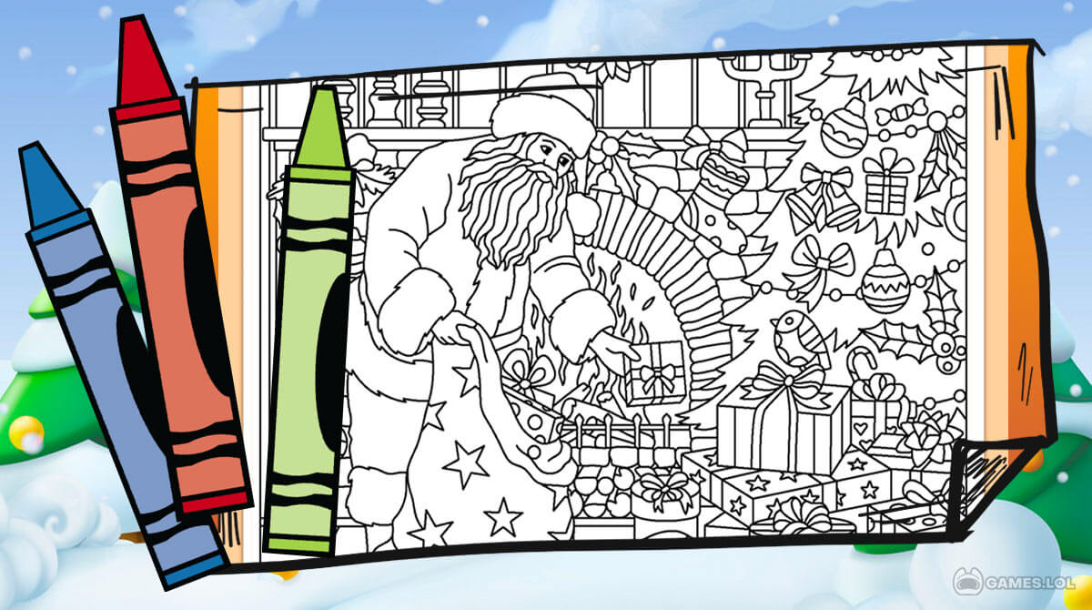 christmas coloring download PC free