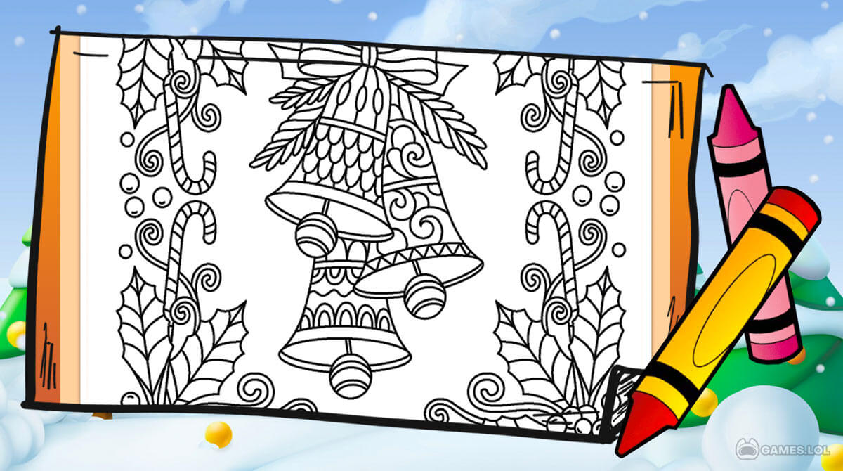 christmas coloring download PC